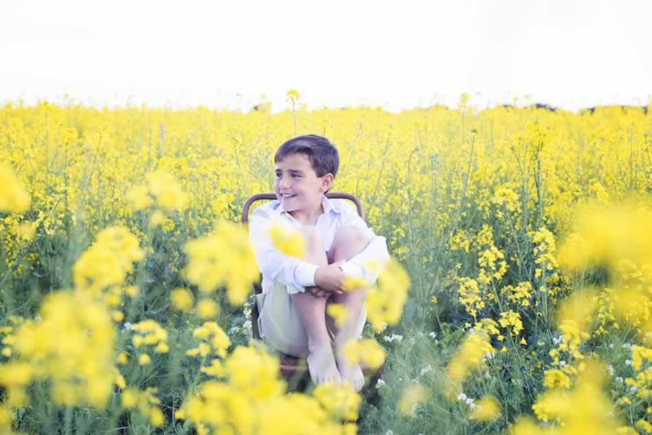reportaje de comunion huesca fotografia niños comuniones exteriores 03