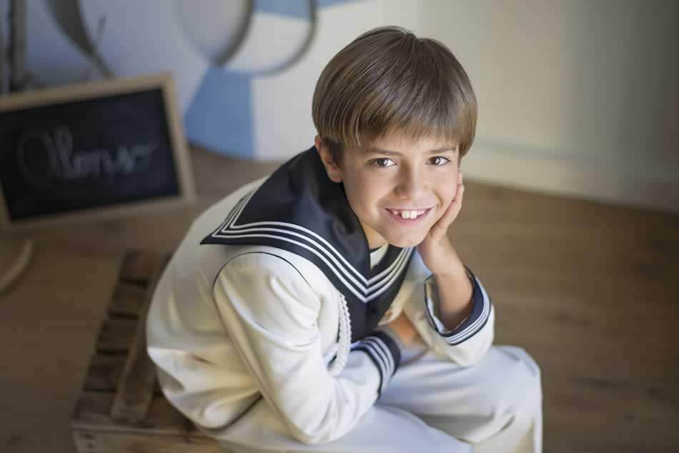 reportaje de comunion huesca fotografia niños comuniones estudio 16