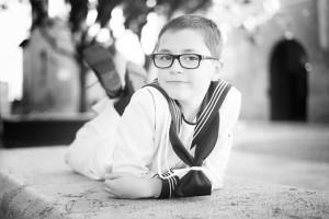 reportaje de comunion huesca fotografia niños comuniones exteriores 11