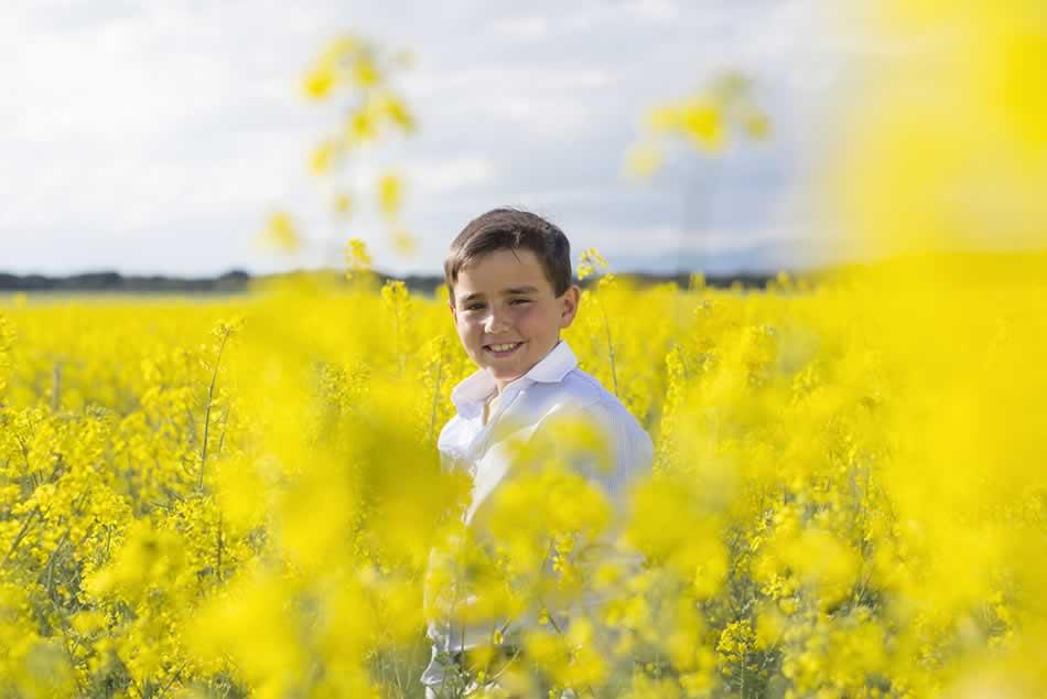 reportaje de comunion huesca fotografia niños comuniones exteriores 16
