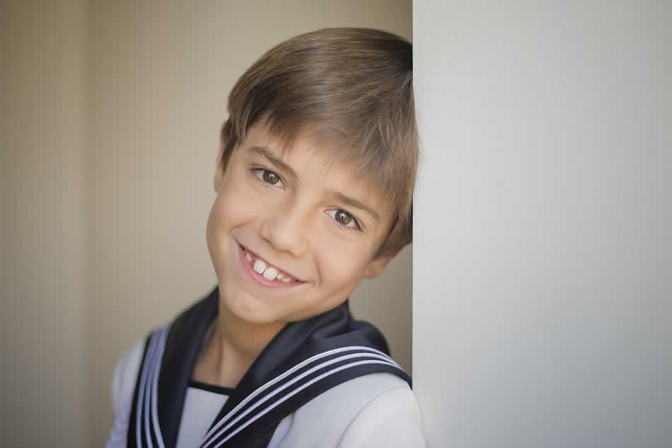 reportaje de comunion huesca fotografia niños comuniones estudio 30