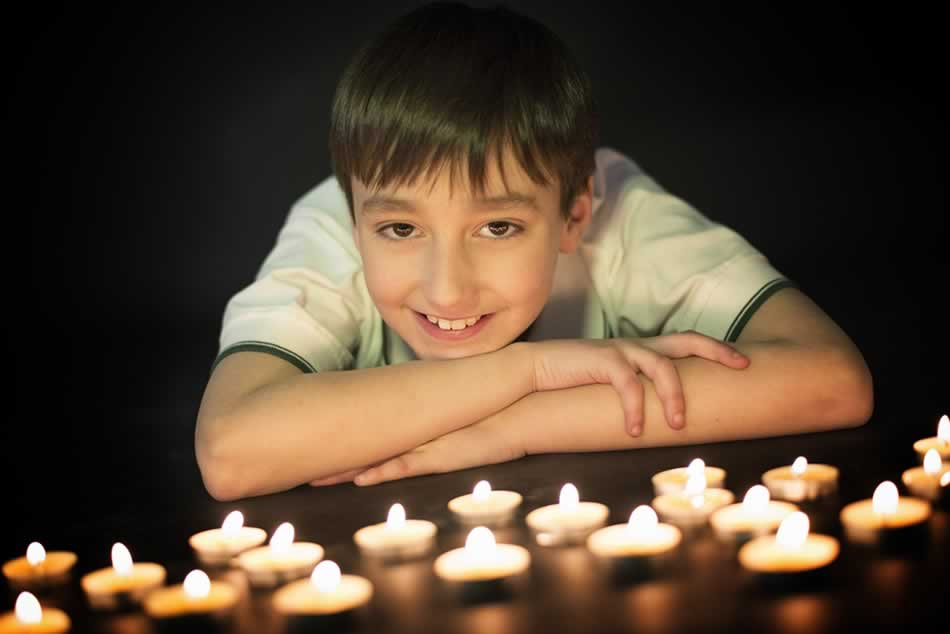 reportaje de comunion huesca fotografia niños comuniones estudio 45