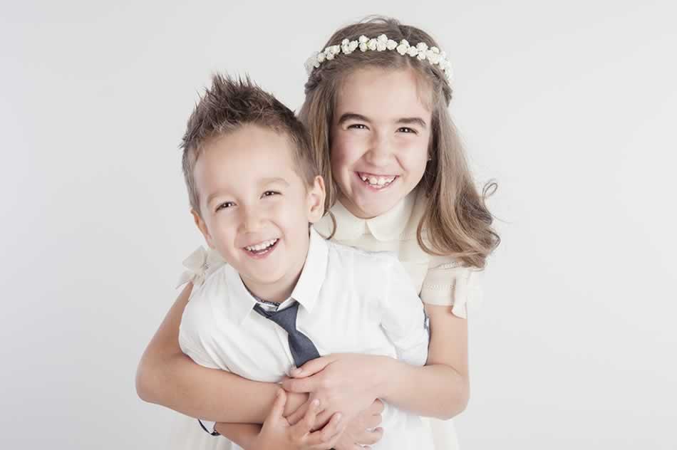 reportaje de comunion huesca fotografia niños comuniones estudio 50
