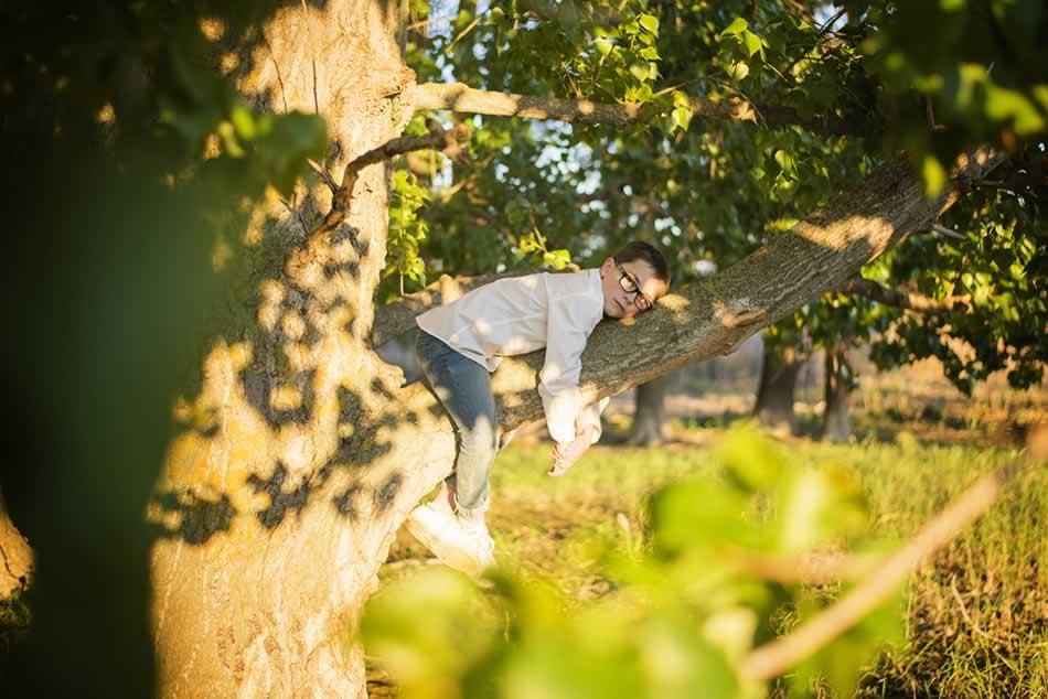 reportaje de comunion huesca fotografia niños comuniones exteriores 50