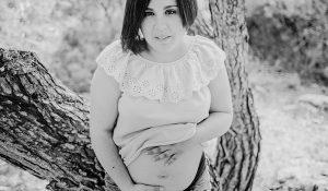 Fotografía de embarazo. La familia crece